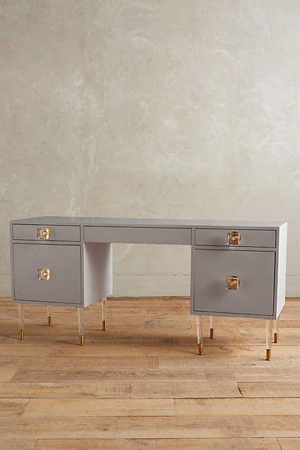 Lacquered Regency Desk Home Desks And Anthropologie