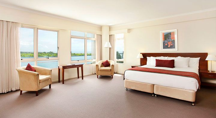 A Superior King Room at Rydges Port Macquarie