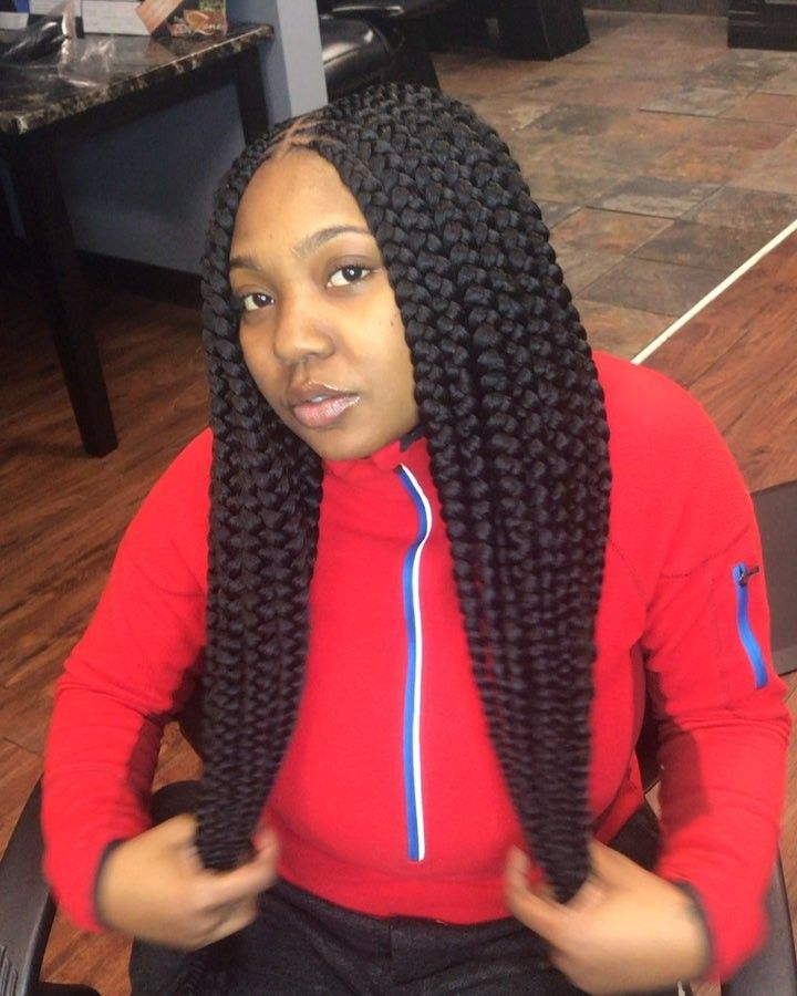 Naisha Berry On Instagram 2 Layer Braids Book The Look Link In Bio Black Hair Updo Hairstyles Cute Braided Hairstyles Lemonade Braids Hairstyles