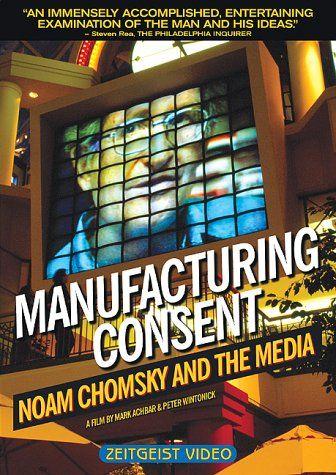 Manufacturing Consent - Noam Chomsky and the Media Gaiam http://www.amazon.com/dp/B00005Y726/ref=cm_sw_r_pi_dp_QhxAvb00WVHA9