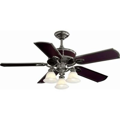 home depot ceiling fans hampton bay | Hampton Bay Preston 52 in. Vintage Pewter Ceiling Fan-YG092-VPW at The ...