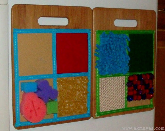 DIY Sensory Boards
