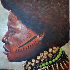 Portrait série Indonésie, peinture par Flo con d'avoine