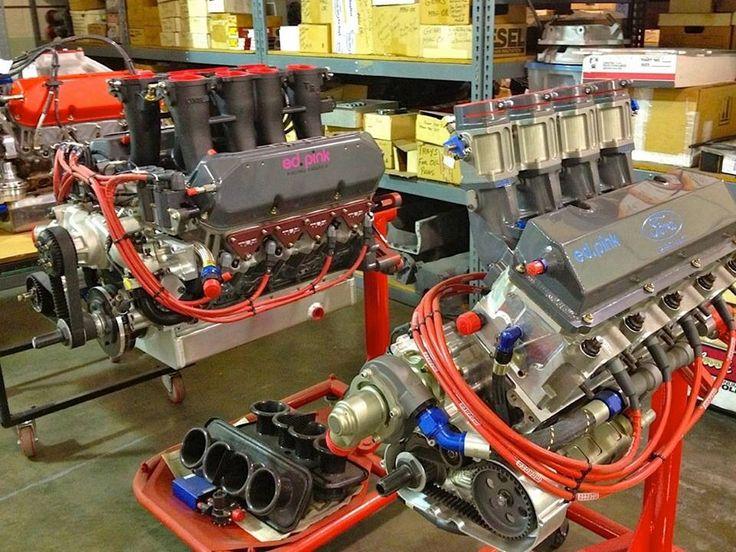 Midget car race motors