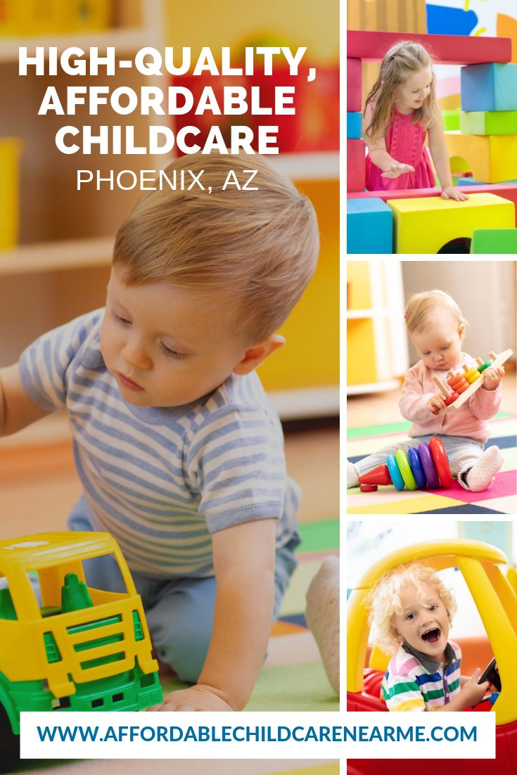 Safe & Affordable Childcare in Phoenix! Search for a