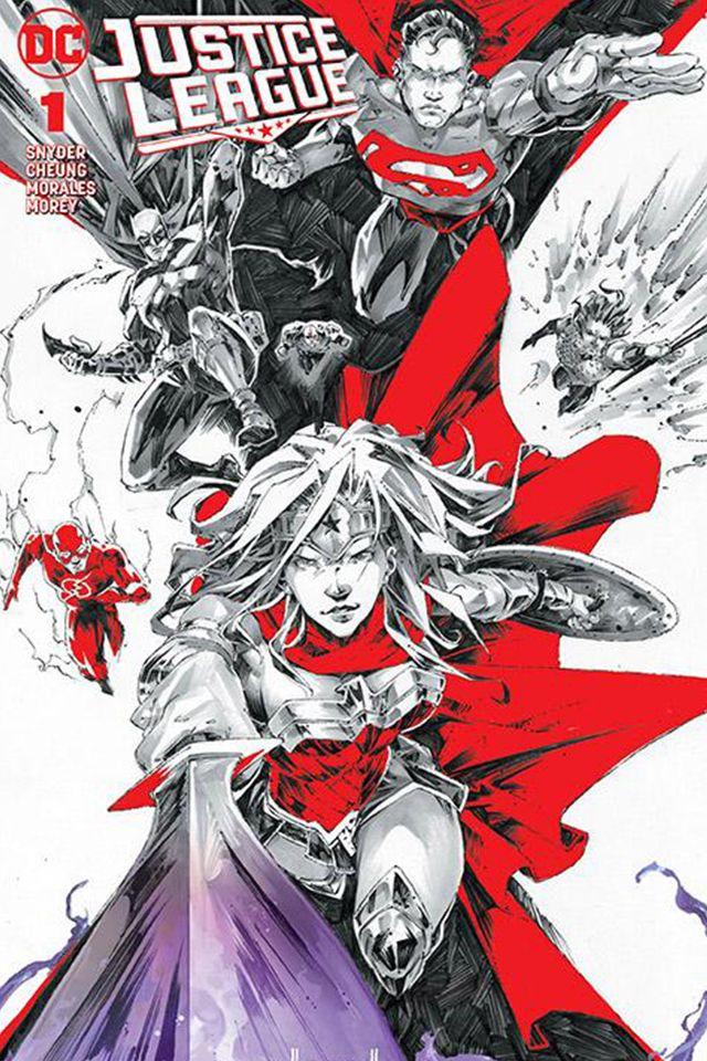Justice League 2018 1 Complete Cover Checklist Comic Company Comics Justice League
