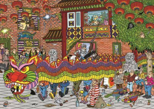 Puzzle JUMBO: Puzzle de 500 piezas Puzzle Año Chino Haasteren ( Ref: 0000019031 ) en Puzzlemania.net