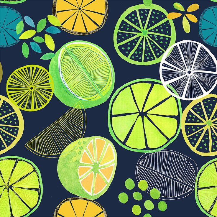 jocelyn proust designs pattern design hand painted tiles luscious limes