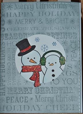 Tildan sekoitus: Joulukortti