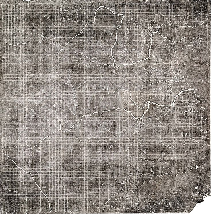 This famous Chinese map from c.1136 is carved on stone and is the first known map to use a grid showing scale. The side of each square shows approximately 30 miles.  Library of Congress Geography and Map Division