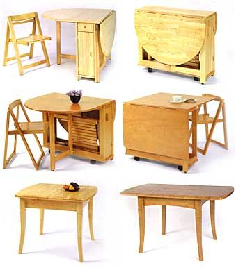 folding kitchen tables and chairs | Inventor of the Blow-Molded Table Renovates on the Folding Tables ...
