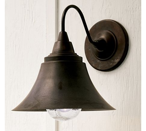 Barnard Sconce Pottery Barn Maybe Farmhouse Lighting