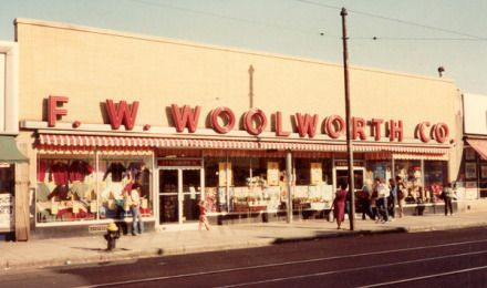 Before the Dollar stores, there was the Five and Dime or Dime Stores. My favorites were WT Grant and Co.(Grants) and FW Woolworth (Woolworths)