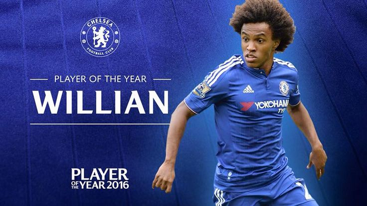 Willian wins Player of the Year for CFC