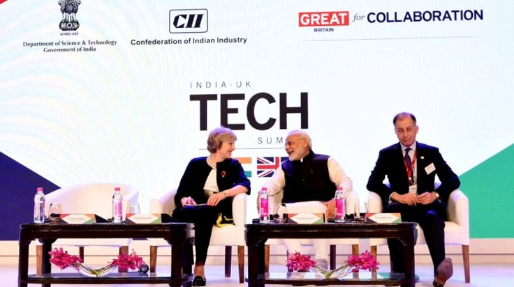 The Indian and UK prime ministers Narendra Modi and Theresa May have unveiled plans to establish a joint research and development centre to support solar innovations.