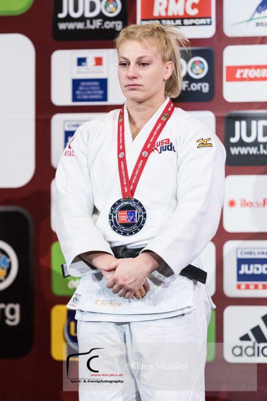 Kayla Harrison (USA) - Grand Slam Paris (2016, FRA), Olympic Judo team in Rio 2016, from Cincinnati, Oh. Gold Medal winner, Rio Olympics 2016