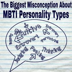 MBTI Personality Types do not define one's personality. They describe how one's brain works.