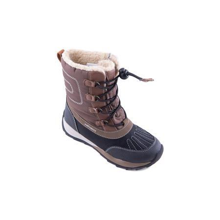 GEOX Полусапожки для мальчика GEOX  — 5383р. ------------------- Полусапоги GEOX (ГЕОКС) Полусапоги от GEOX (ГЕОКС), выполненные из искусственной кожи и прочного текстиля, идеально подходят для холодной погоды. Плотная мягкая подкладка из искусственного меха согревает чувствительные детские ноги. Текстильная стелька улучшает тепловое сопротивление в холодных условиях, повышая температуру внутри обуви. Влага не застаивается в обуви, благодаря чему создается идеальный микроклимат, который…