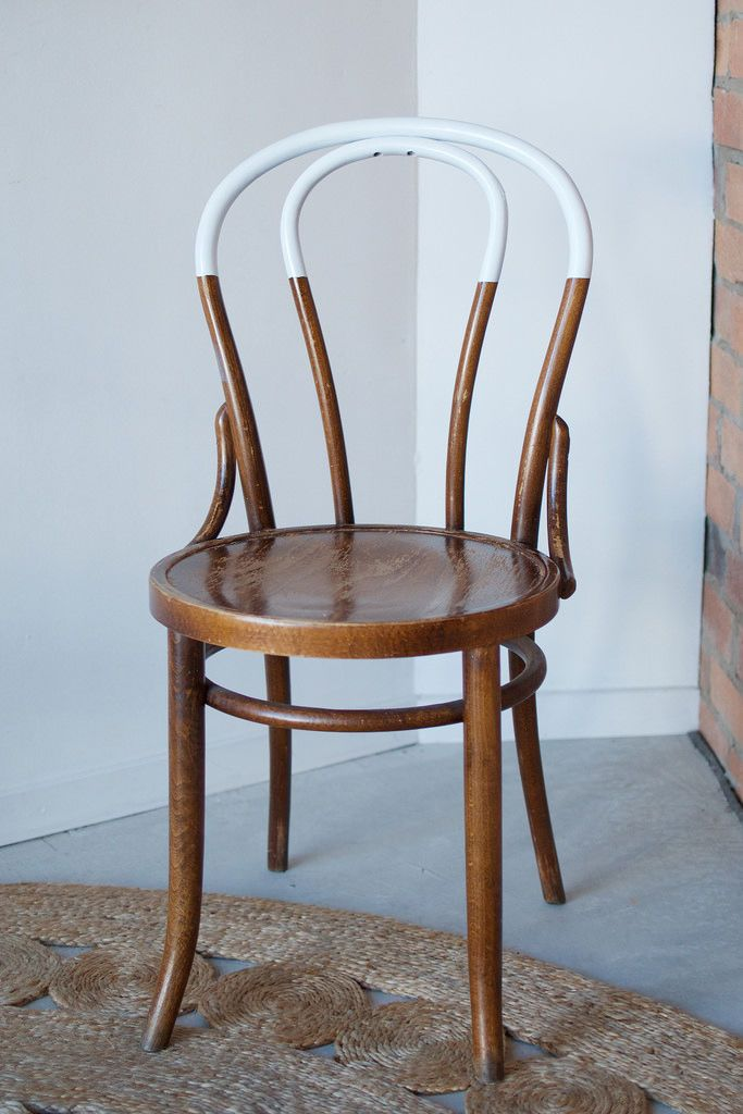 DIY Paint-Dipped Chairs