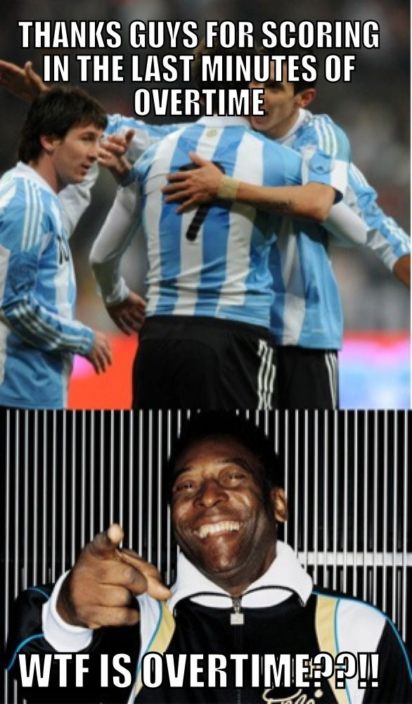 Messi vs Pele