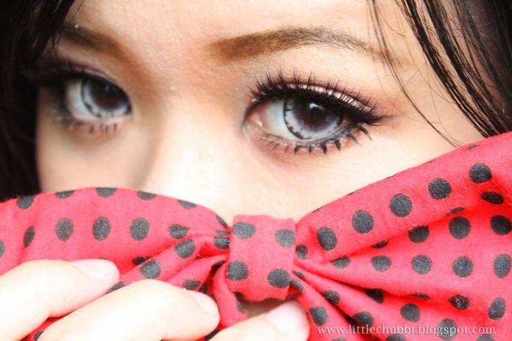 LittleChubbi: Get Dolly Eye With Fake Eyelashes