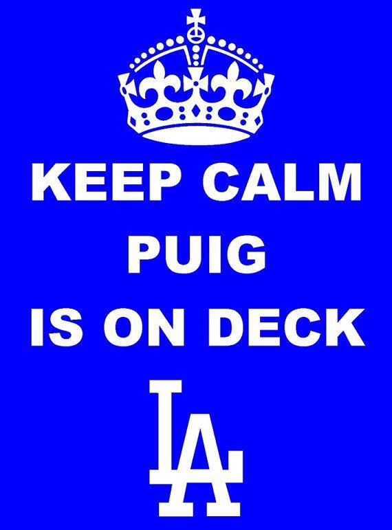 Los Angeles Dodgers Yasiel Puig Keep Calm Shirt
