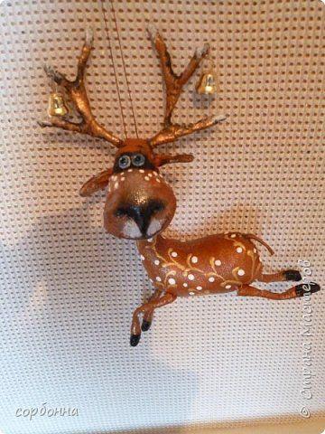 Игрушка Новый год Шитьё новогодние игрушки- грунтованный текстиль снеговички совы зверушки елочки  козочки барашки Ткань фото 7