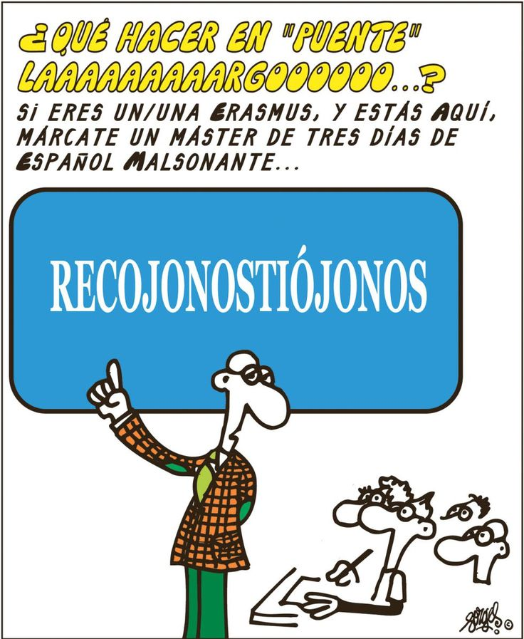 El ilustrador Forges sobre el español malsonante ------------ Artist Forges on fowl-sounding Spanish