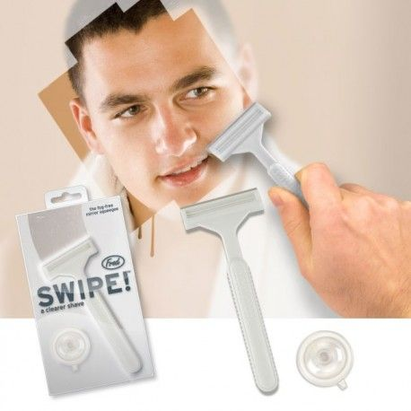 Do you even after showering always the problem that the mirror is so bad fittings that you can not see what you're doing? These trendy Swipe is the solution! The Swipe is a stylish and very useful gadget in the form of a razor blade you mirror in no time clean knew. Indispensable fun. #CadeausVoorMannen