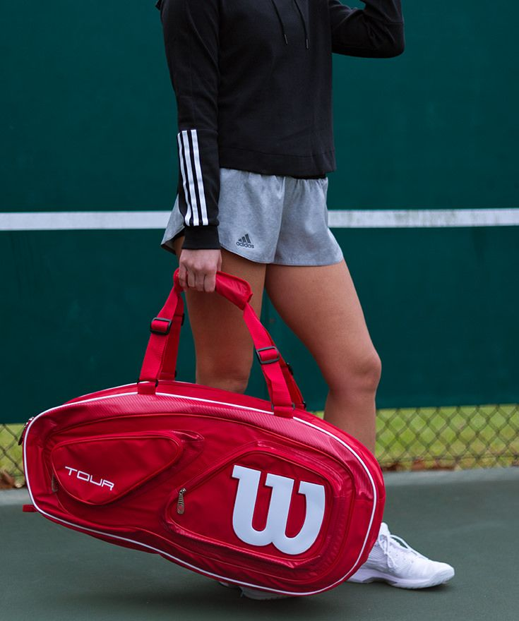 The Wilson Tour V Red 6 Pack Tennis Bag Is Everything A