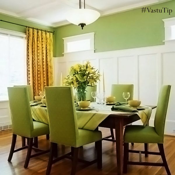The Colour Green Goes Well With Dining Room This Helps Stimulate Mind