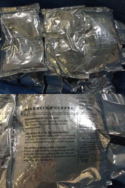 Ground Coffee 79629: Starbucks Coffee French Dark Roast Ground Coffee 18 X 9 Oz= 10 Lbs!! -> BUY IT NOW ONLY: $69.99 on eBay!
