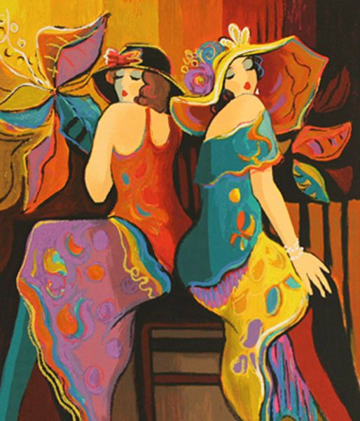 art.quenalbertini: Isaac Maimon 'Twilight Time Suite: Sisters'