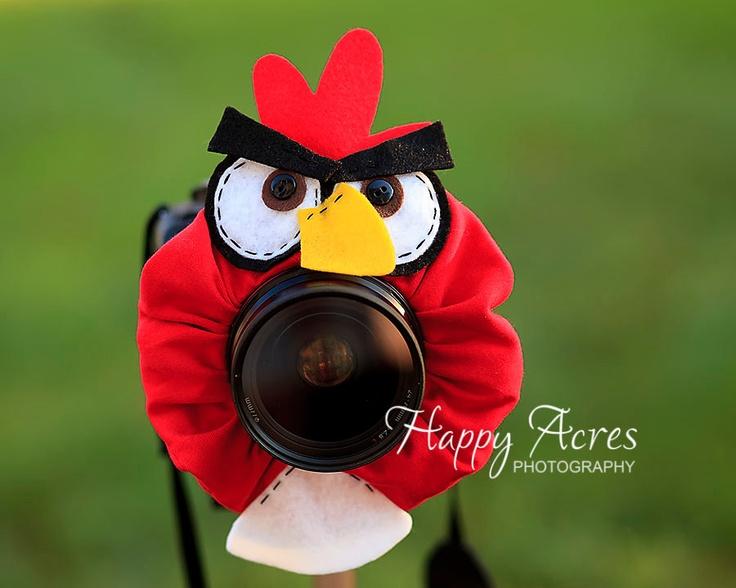 Lens Bling - Red Bird-