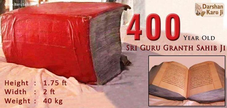 Sri Guru Granth Sahib Ji (400 years old) Waheguru