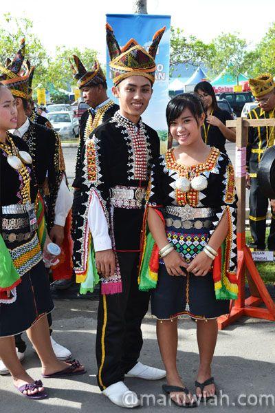 Pakaian Tradisional Etnik-etnik di Sabah | Maruwiah Ahmat
