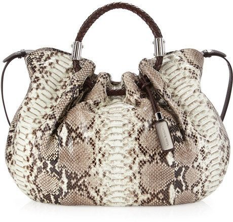 Shop Skorpios Ring Tote Bag from MICHAEL Michael Kors at Neiman Marcus Last  Call, where you\u0027ll save as much as on designer fashions.