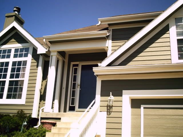 painting gutters trim color and facia board body color paint talk