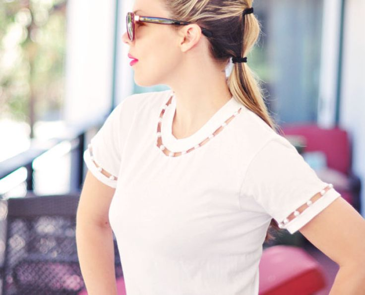 10 восхитительных способов превратить старые футболки в новые