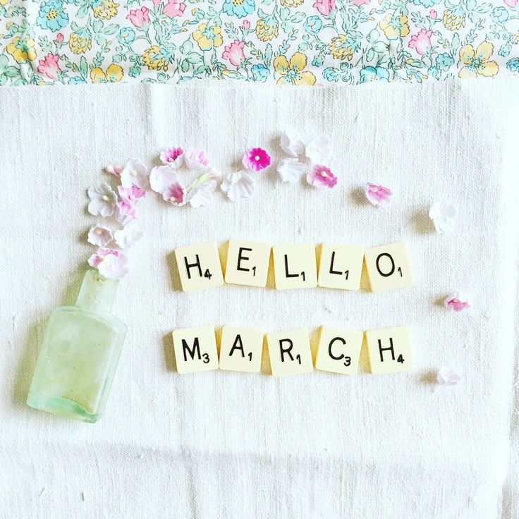 Hello March, how lovely to see you! Tamsyn x