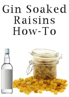 For Arthritis | 21 Unexpected Ways To Relieve Pain - Something about the sulfites or the juniper berries or something. Soak raisins in gin and munch on the raisins.