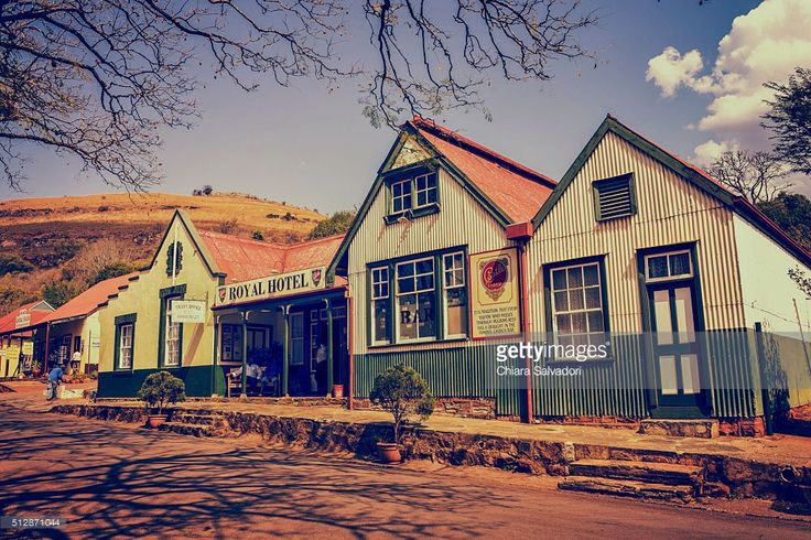 The Royal Hotel in Pilgrim's Rest | Mpumalanga, South Africa | #stockphotos #gettyimages #print #travel |
