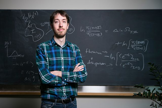 Jeremy England - A New Thermodynamics Theory of the Origin of Life   Simons Foundation
