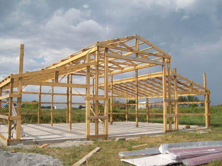 Rca Full Front Structure Barn Ideas Pinterest Barns