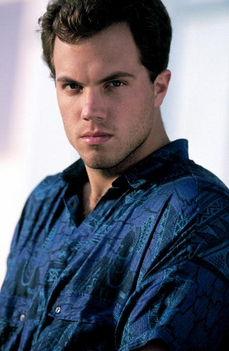 """Adam Baldwin 6'4"""" with broad shoulders See D'lestra more handsome than the captain!"""