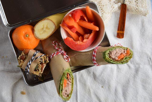 Cathrine Brandt » Spinatpandekager med tunmousse – inspiration til madpakken