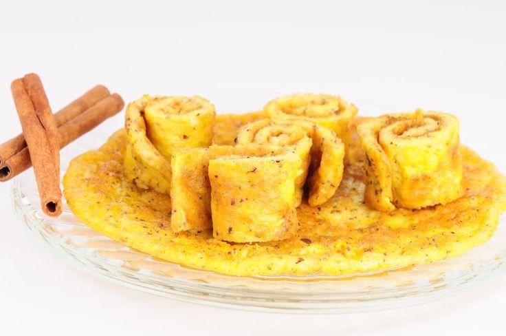 Zimtpfannkuchen mit Mandelmehl - Die Pfannkuchen wurden von Detlef D! Soost getestet und für gut befunden: sättigend, proteinreich und mit Zimt für den Stoffwechsel. Köstlich!
