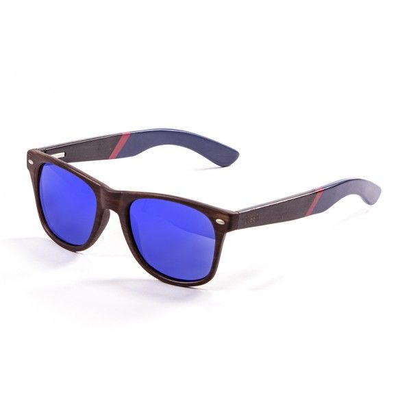 Its frame is made of 100% natural material and they float. Perfect for the beach or the boat - bamboo sunglasses!