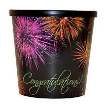 Gold Medal Congratulations Popcorn Tubs