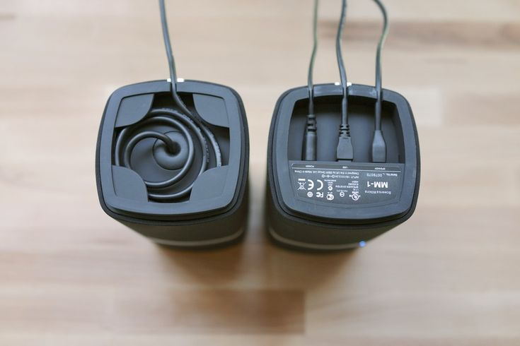 Bowers & Wilkins MM-1, Cable Management